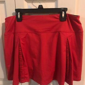 Bolle tennis skirt - red size medium
